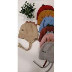 Gorro lana pompom